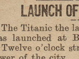 Titanic Launch Ad