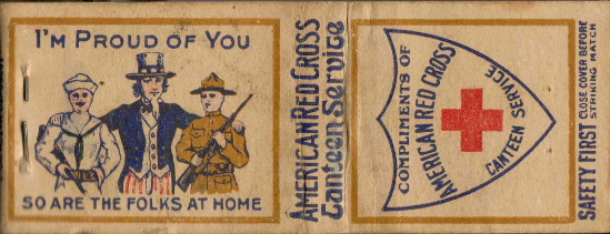 WWI Matchbook / Matchcover