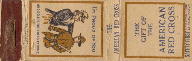 World War 1 Matchbook