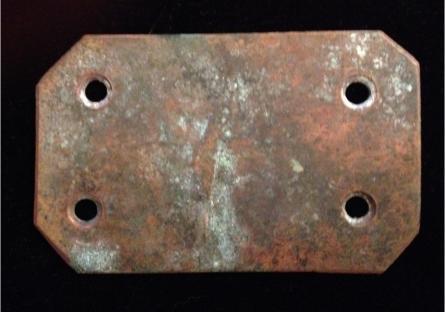 Titanic Aft Grand Stair Case Brass Strip