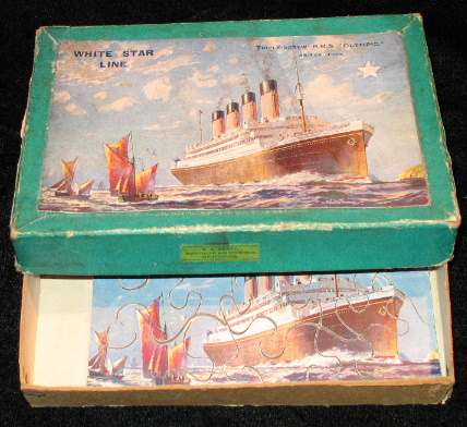 Vintage RMS Olympic Puzzle